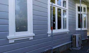 Exterior finished painting